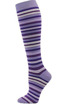 Think Medical Womens Fashion Striped Knee High