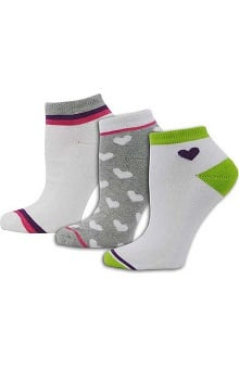 Think Medical Womens 3Pk Hearts Sock