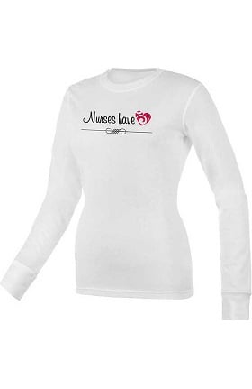 Think Medical Womens Nurses Have Heart Underscrub