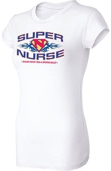 Think Medical Womens Super Nurse T-Shirt