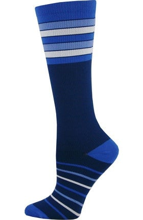 Think Medical Women's Stripe Print 10-14 mmHg Compression Sock