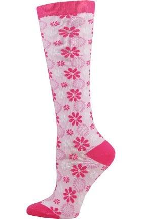 Think Medical Women's Floral Print 10-14 mmHg Compression Sock