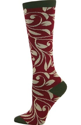 Think Medical Women's Vine Print 10-14 mmHg Compression Sock