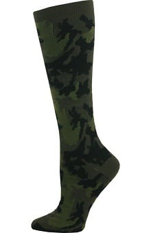 Think Medical Men's Camo Print 10-14 mmHg Compression Sock