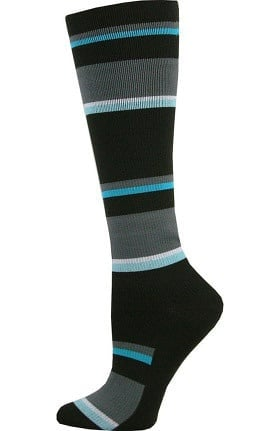 Think Medical Men's Stripe Print 10-14 mmHg Compression Sock
