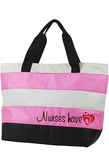 Think Medical Womens Nurses Have Heart Tote