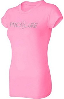 Pro Cure Womens Bling T-Shirt