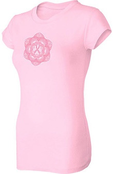 Pro Cure Womens Spirograph Ribbon T-Shirt