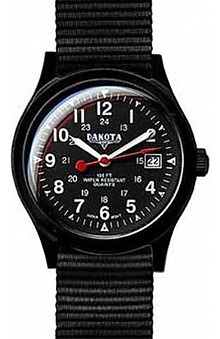 Dakota Watch Company Unisex Ultra Light Field Watch