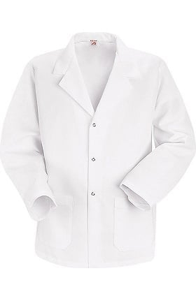 "Red Kap Men's Counter 30"" Lab Coat with Grippers"