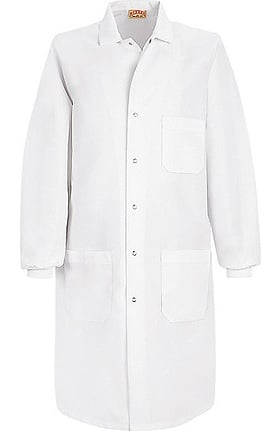 "Red Kap Unisex 41½"" Lab Coat with Knit Cuff"