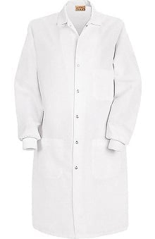 Red Kap Unisex Lab Coat Inside Breast Pocket with Knit Cuff