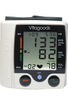 Medical Devices new: Vitasigns Wrist Blood Pressure Monitor