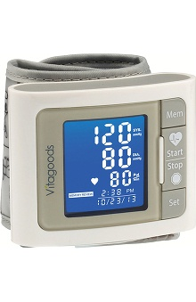 Vitasigns Bluetooth Travel Wrist Blood Pressure Monitor