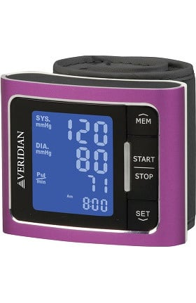 Veridian Healthcare Blood Pressure Wrist Monitor