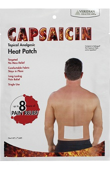 Veridian Healthcare Capsaicin Topical Heat Patch