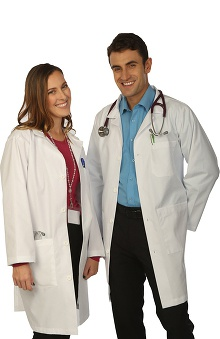 "Clearance VESTEX® Basics Unisex 38"" Lab Coat"