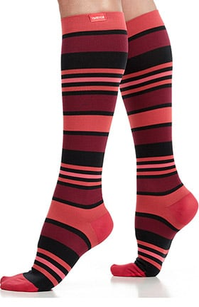VIM & VIGR Women's Nylon 20-30 mmHg Compression Sock
