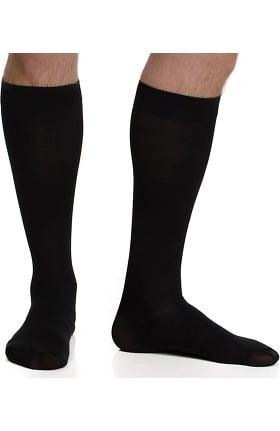VIM & VIGR Men's 15-20 mmHg Compression Nylon Moisture Wick Sock - Wide Calf