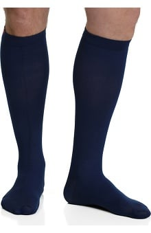 VIM & VIGR Men's 15-20 mmHg Compression Nylon Moisture Wick Sock - Wide Calf