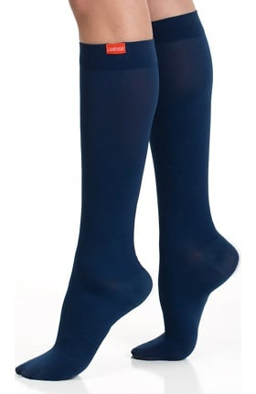 VIM & VIGR Women's 15-20 mmHg Compression Nylon Moisture Wick Sock - Wide Calf