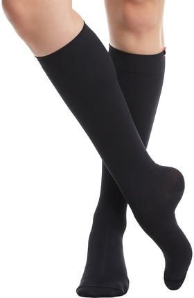 VIM & VIGR Women's 15-20 mmHg Compression Wool Sock - Wide Calf