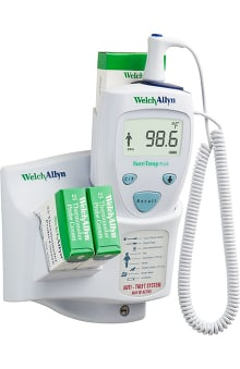 Clearance Welch Allyn Suretemp Electronic Thermometer with Oral Probe Model 690