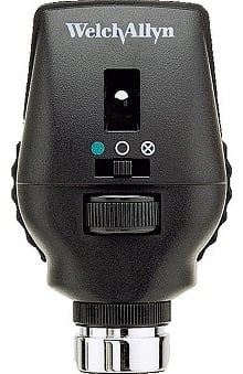 Welch Allyn 3.5V Coaxial Ophthalmoscope Head - Model 11720