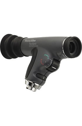 Welch Allyn 11820 PanOptic Ophthalmoscope Head with Cobalt Filter & Add-On Corneal Magnifying Lens