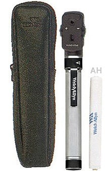 Welch Allyn Ophthalmoscope Pocket Scope (Model 12811)