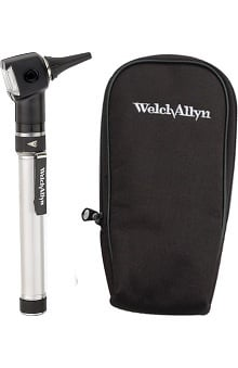 accessories: Welch Allyn Otoscope with AA Battery Handle & Soft Case
