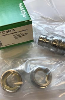 Welch Allyn Aerator Adapter Kit - U.S. Domestic Model 29373