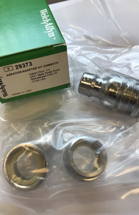 Welch Allyn 29373 Aerator Adapter Kit - U.S. Domestic