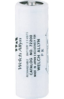 Welch Allyn 3.5V Nickel-Cadmium Rechargeable Battery - Model 72200
