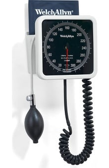 Welch Allyn Tycos Adult Cuff And Wall Basket - Model 7670-01 Blood Pressure Monitor