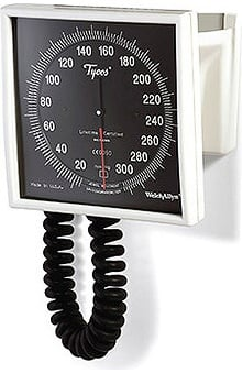 Welch Allyn Tycos 767 Series Wall Only Sphygmomanometers with 8 Ft. Tubing Blood Pressure Monitor Model 7670-02