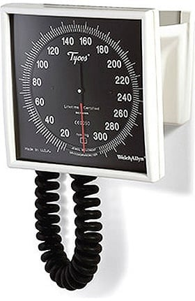 Welch Allyn 7670-02 Tycos Wall Aneroid Sphygmomanometer