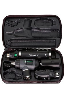 Welch Allyn 3.5V Standard Diagnostic Set with Throat Illuminator & Lithium Ion Smart Handle - Model 97100-Ms
