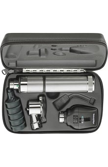 Welch Allyn 3.5V Standard Diagnostic Set with Pneumatic Otoscope & Convertible Handle - Model 97120-C