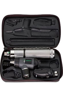 Welch Allyn 3.5V Standard Diagnostic Set with Diagnostic Otoscope & Convertible Handle - Model 97150-Mc