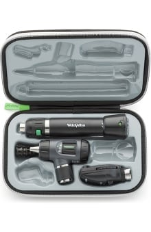 Welch Allyn 97150-MS 3.5V Standard Diagnostic Set with Otoscope & Lithium-Ion Smart Handle