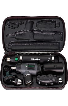 Welch Allyn 3.5V Coaxial Diagnostic Set with Throat & Nasal Illuminators & Lithium-Ion Smart Handle - Model 97210-Ms