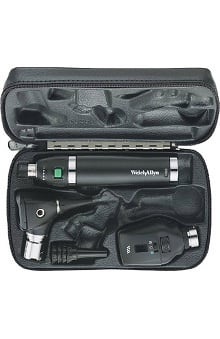 Welch Allyn 3.5V Coaxial Diagnostic Set with Diagnostic Otoscope & Lithium-Ion Smart Handle - Model 97250-Ms