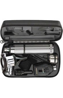 Welch Allyn 3.5V Autostep Diagnostic Set with Pneumatic Otoscope & Convertible Handle - Model 97320-C