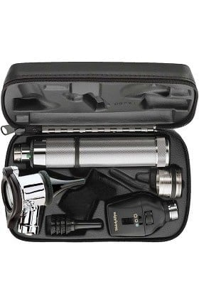 Welch Allyn 97320-C 3.5V AutoStep Diagnostic Set with Pneumatic Otoscope & Convertible Handle