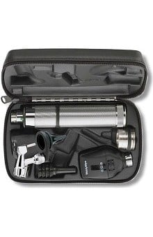 Welch Allyn 3.5V Autostep Diagnostic Set with Diagnostic Otoscope & Convertible Handle - Model 97370-C