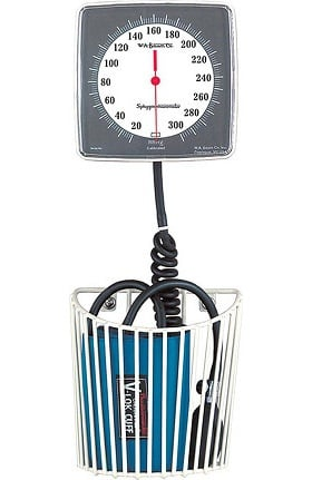 W.A. Baum Co. Baumanometer Wall Aneroid with Basket & Adult Cuff