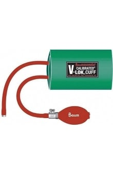 W.A. Baum Complete Non-Latex Inflation System Bp Cuff - Adult