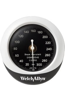 Welch Allyn DuraShock™ Integrated Aneroid Sphygmomanometer Gauge Only Model DS45G