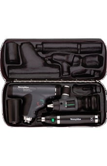 Panoptic by Welch Allyn Marcorview 3.5V Halogen Otoscope With Lithium Ion Handle Set 97800-Ms